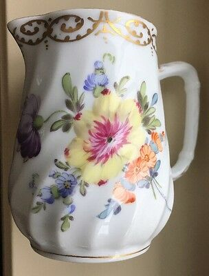 ⭐️Royal Bavarian Hand Painted Creamer ⭐️T.Goode&Co. London⭐HRH  Diana Warrant