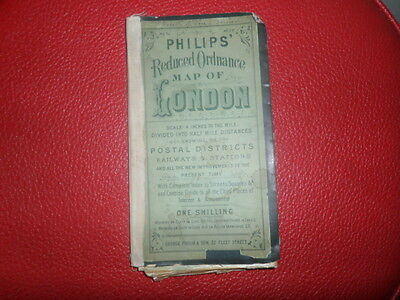 Philips' Reduced Ordnance Map of London~George Philip