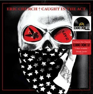 Eric Church - Caught In The Act (2-LP Live / Limited Edition Vinyl) RSD 2017