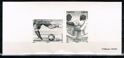France.2010 World Cup.Soccer.Football.Fussball.Imperfor.Delux.MNH**