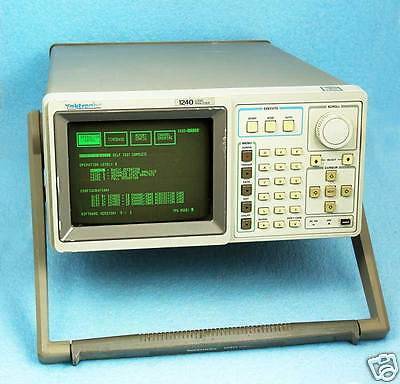 Tektronix 1240 LOGIC ANALYZER 1240D2 DATA ACQUISITION CARDS 72 CHANNELS WORKING