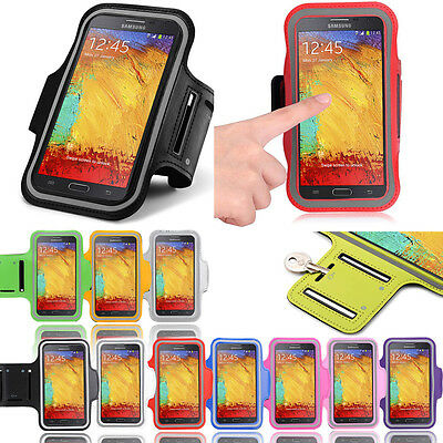 Sports Armband Running Jogging Exercise Gym Pouch Case For Samsung Galaxy Note 4