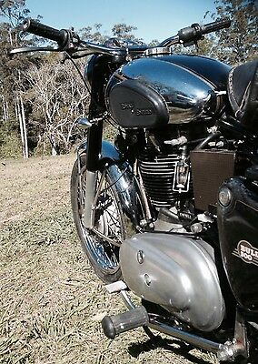 ROYAL ENFIELD BULLET 500 not BSA BMW or NORTON