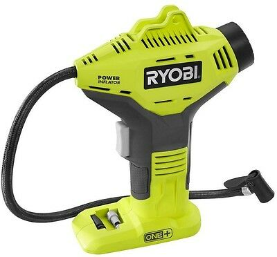 Ryobi 18-Volt ONE+ Power Inflator (Tool-Only) Portable Compressor Handheld Tool