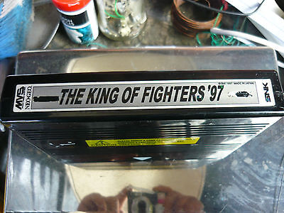 The king of fighters 97. Neo geo mvs cart.