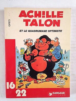 Achille Talon Et Le Quadrumane Optimiste // Greg // 16/22 Dargaud Ed. 1980