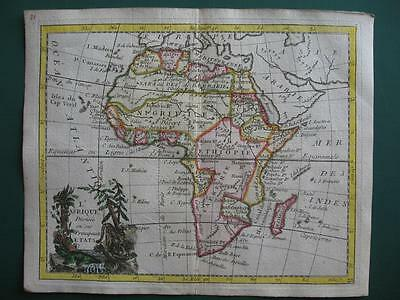 1780s - LAPORTE - Small map AFRICA