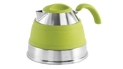 Outwell Collaps 1.5L Collapsible Camping / Campervan Kettle - Lime Green