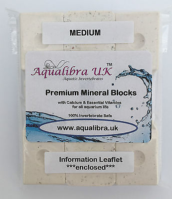 PREMIUM MINERAL BLOCKS 11g x8 with added CALCIUM+VITAMINS+FOOD for TROPICAL