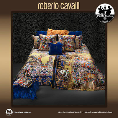 ROBERTO CAVALLI HOME | GOLD FLOWERS Set bettlaken - Full bedsheet