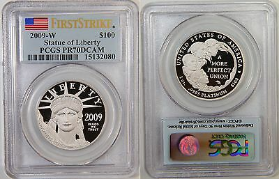 2009-W $100 Platinum Eagle PCGS PR70 BEST PRICE EVER!! FIRST STRIKE