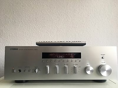 yamaha r s500 stereo receiver rs500 silber mit. Black Bedroom Furniture Sets. Home Design Ideas