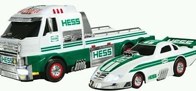 NEW IN BOX 2016 Hess Toy Truck and Dragster