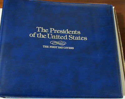 Presidents of the United States Collection Fleetwood 40 First Day Covers Album