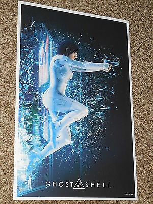 Ghost in the Shell 11x17 Promo Movie POSTER