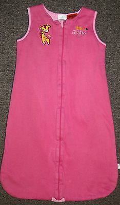 Girl's fully lined warm sleeping bag size 0