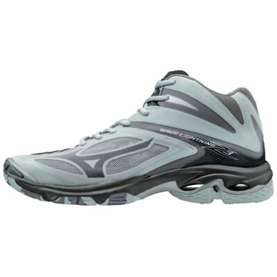 New 2017 Mizuno Wave Lightning Z3 Mid Mens Volleyball shoes Grey