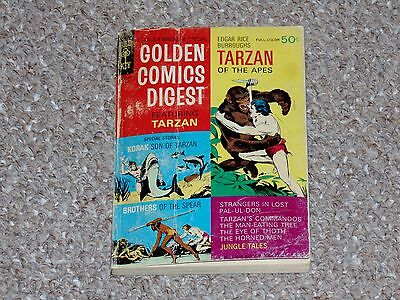 1969 Gold Key Golden Comics Digest # 4 Featuring Tarzan of the Apes GD/VG 3.0