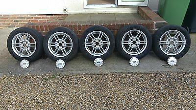 Ford Alloy Wheels 6J x 15 - SET OF 5