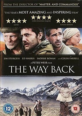 The Way Back DVD * NEW & SEALED FAST FREE UK DISPATCH * Ed Harris Colin Farrell