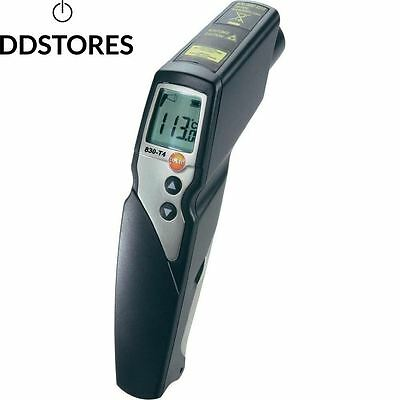Testo 0560 8314 830 T4 Thermomètre infrarouge avec laser 2 points rapport...