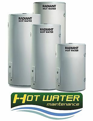 Electric 250L Dux Radiant hot water tank