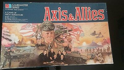 Axis and Allies 1984 edition SEALED (BOX NEAR MINT) Collector.
