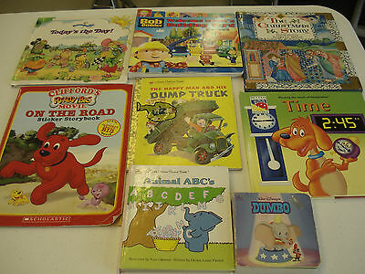 Childrens Books Lot of 8 Mixed Authors Hardcover, Paperback