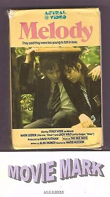 MELODY 1971 (Astral Video) Mark Lester Jack Wild music by Bee Gees slide box vhs