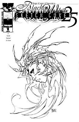 Witchblade # 25 TCC Dynamic Forces Sketch Edition only 1500 made