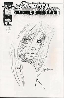 Witchblade # 1 TCC Dynamic Forces Sketch Edition # 619 of 1000 COA