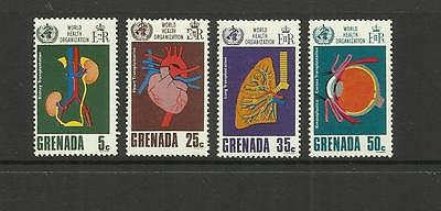 GRENADA ~ 1968 W.H.O. HEALTH 20th ANNIVERSARY