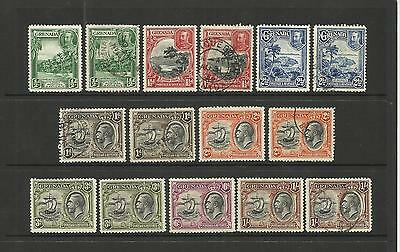 Grenada ~ 1934-36 King George V Definitives (Part Set)