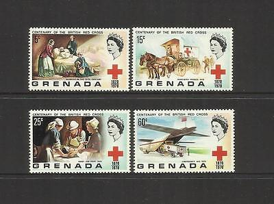 Grenada ~ 1970 British Red Cross Centenary (Mint Mnh)