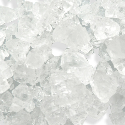Loose White Rock Candy Crystals (Pea Size) Pick a Size - Free Expedited Shipping
