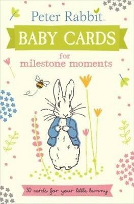 Peter Rabbit Baby Cards: For Milestone Moments by Puffin Hardcover Book (English