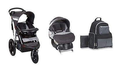 Baby Jogger Stroller Car Seat Newborn Diaper Bag Travel system