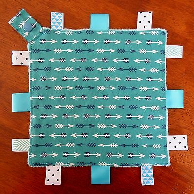 Arrows Mini Size TaGgie Security Blanket Toy comforter dummy clip holder