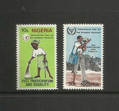 Nigeria ~ 1981 International Year Of The Disabled (Mnh)