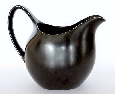 MIDWINTER NATURE STUDY TERENCE CONRAN 1955 STYLECRAFT BLACK JUG 500ml EXCELLENT