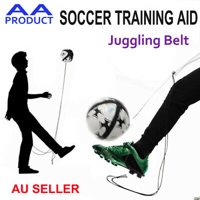 Football Soccer Kick Traning Juggling Belt Band String Skill Practice Aid