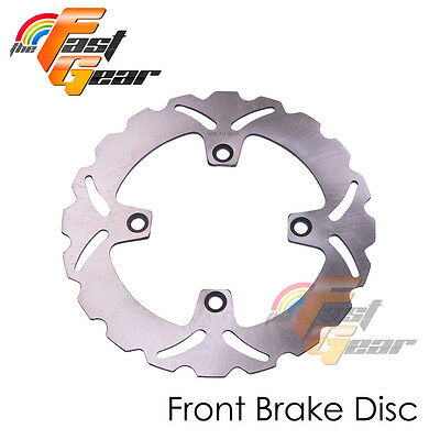 Solid Front Brake Disc Rotor x1 For Honda CB250 Two-Fifty 92-01 02 03 04 05 06