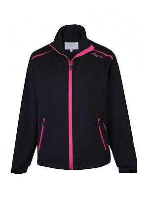 Proquip Ladies Tourflex 360 Rain Jacket - Black/Pink