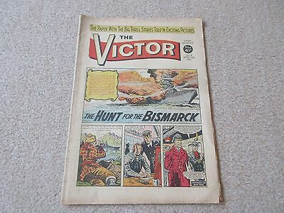 """VICTOR COMIC, No 8 - April 15th 1961, """"The Hunt for the Bismarck"""""""