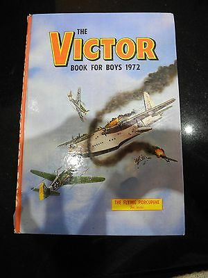 The Victor: Book for Boys Annual 1972, Unclipped. G/VG
