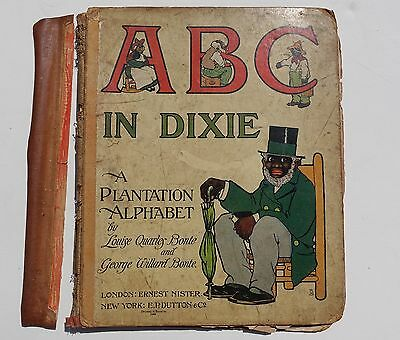1st Edition ABC IN DIXIE A PLANTATION ALPHABET Children's Book Black Americana