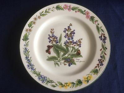 "Royal Worcester Worcester Herbs 8 3/8"" dessert plate (Second -no  obvious flaws)"