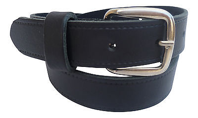 Streeze Boys Real Leather Dress / School Belt with Silver Buckle