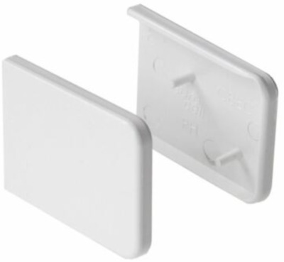 Capping Board End Caps White (Small) - FREE DELIVERY 35mm 37mm
