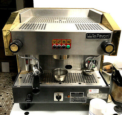 La Pavoni P3V1 Commercial Espresso Cappuccino machine,  AS-IS